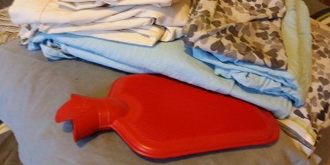 Bedding packs help those living in cold homes.