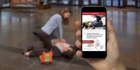 First Aid App -AED