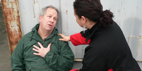 Psychological first aid helps those in distress