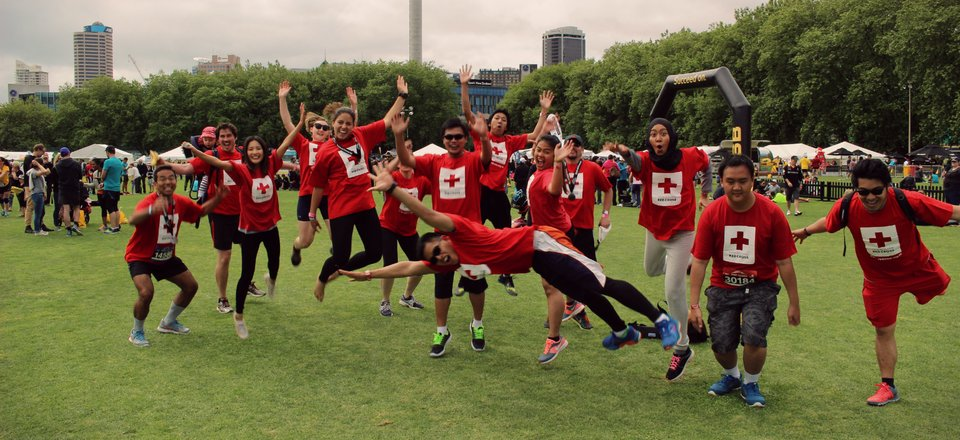Geothermal colleagues run for Red Cross