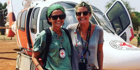 Nurse Lucy in South Sudan