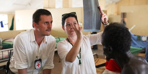 Aid worker Rebecca Barrell in South Sudan