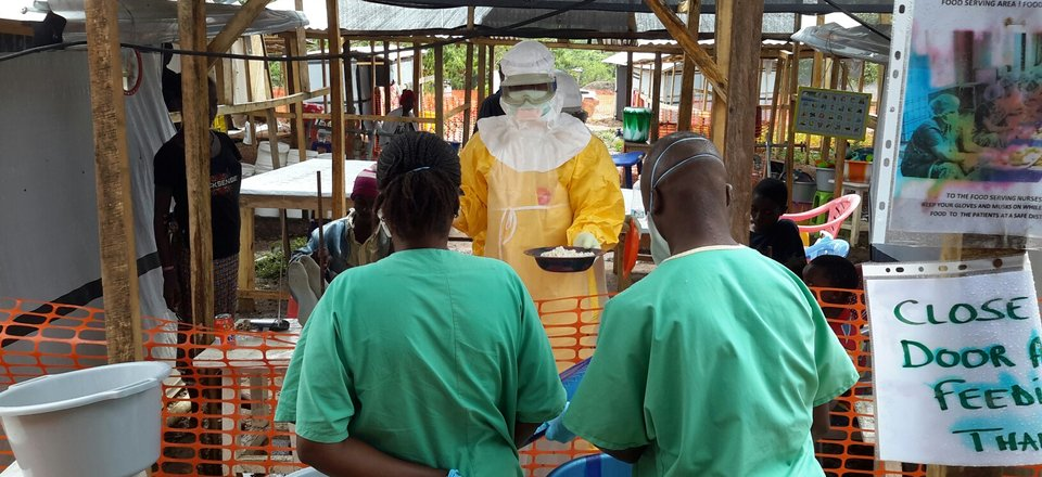Nursing in Ebola country