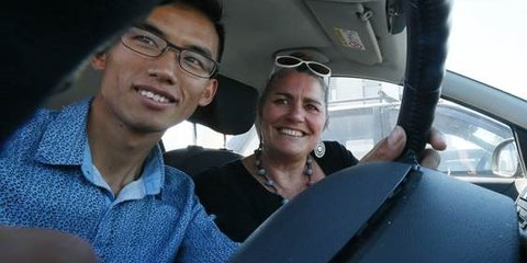 Refugee driver training in Nelson