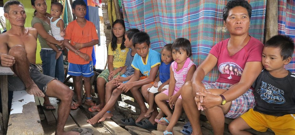 Typhoon Haiyan - Rosita and family