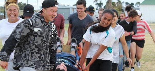 Students take part in the Hawke's Bay YES programme
